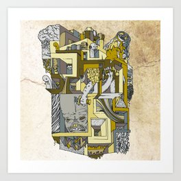 dream home #3 Art Print
