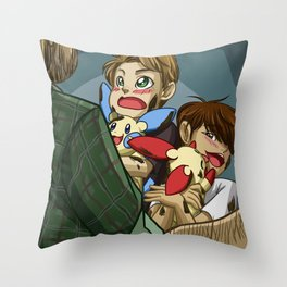 Pokenatural Throw Pillow