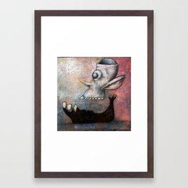 SkUFO Framed Art Print