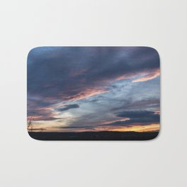 Evening Sunset Bath Mat