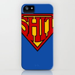 Superman Sucks iPhone Case
