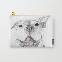 A Smile is Worth a Thousand Words :: A Pit Bull Smile Carry-All Pouch