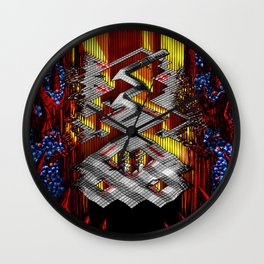 Marble Madness: Where Good Marbles Go To Die Wall Clock