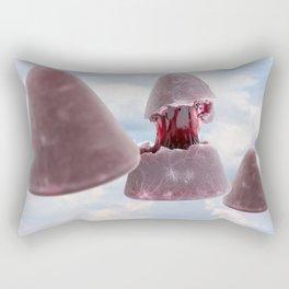 This pyramidal cuberdons Rectangular Pillow
