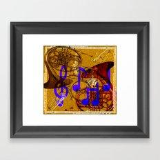 Notes of Sound Framed Art Print