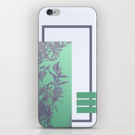 Violet Foliage #society6 #spring iPhone Skin