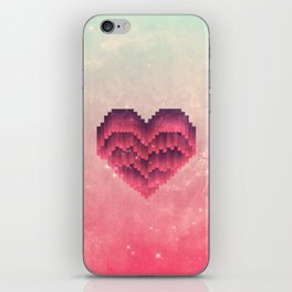 Interstellar Heart IV iPhone Skin
