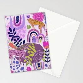 Cheetah Dreams Stationery Cards