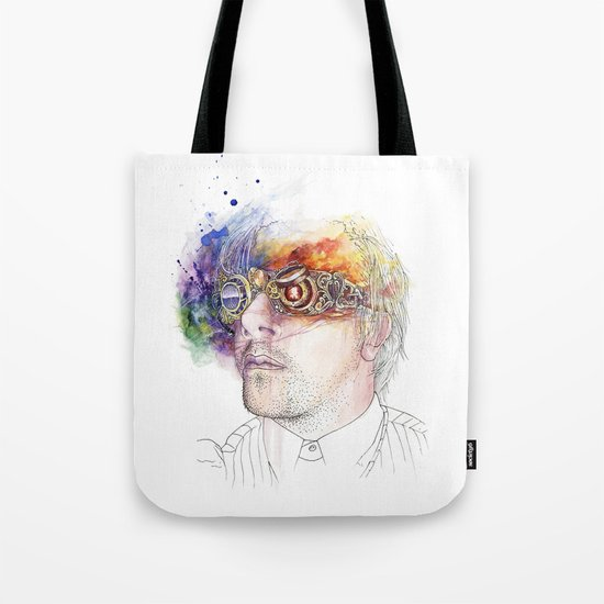 Seeing the world in different colours Tote Bag