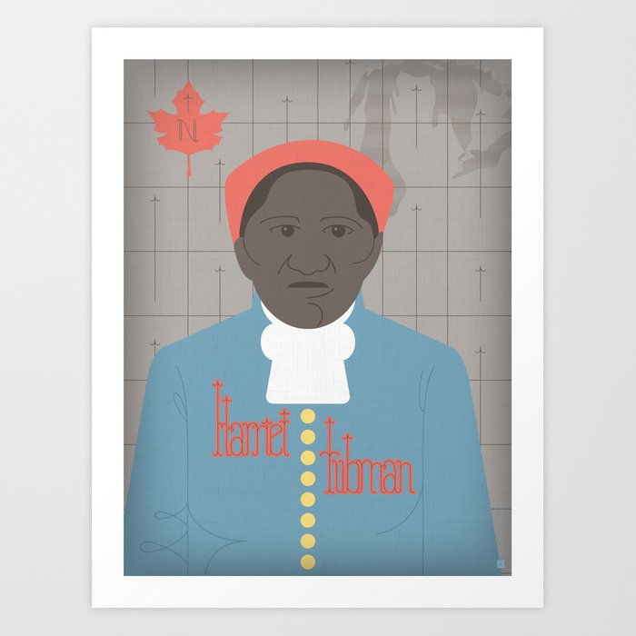 Harriet Tubman Portrait Art Print