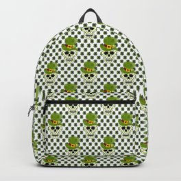 St Paddys Skull - St Patrick's Day Backpack