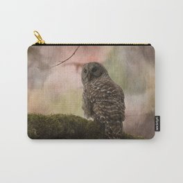 Barred Owl Artistic Carry-All Pouch