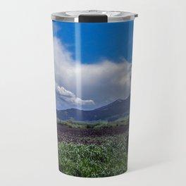 The Bridger Mountains, Outside Bozeman, Montana Travel Mug