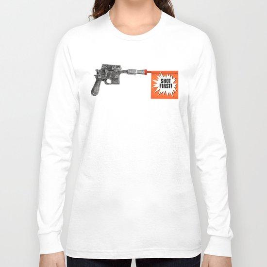Shot First Long Sleeve T-shirt
