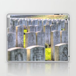 World War One War Graves Etaples Military Cemetery Laptop & iPad Skin