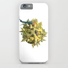 World in Low Poly Style.3D Rendering Slim Case iPhone 6s