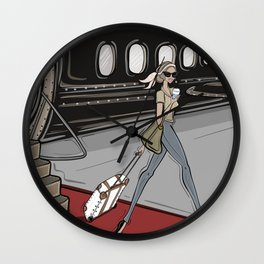 Jetsetter Wall Clock