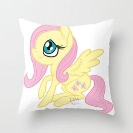 Fluttershy Chibi Throw Pillow