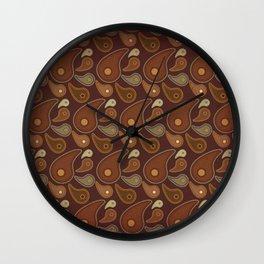 Keyes Paisley One Wall Clock