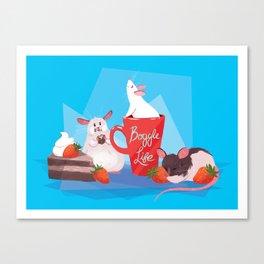 Rat Party! Canvas Print