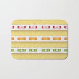 Cake Slice - Fruit Bath Mat