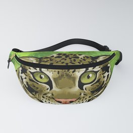 Clouded Leopard Fanny Pack