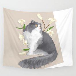 Cat Som Wall Tapestry