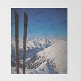 ski Throw Blanket