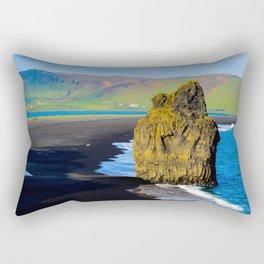 reynisfjara beach Rectangular Pillow