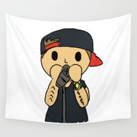 liam payne Wall Tapestries featuring Liam by clevernessofyou