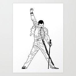 Don't Stop Me Now Art Print