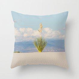 White Sands, No. 3 Throw Pillow