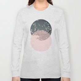 Peach Blossom Long Sleeve T-shirt