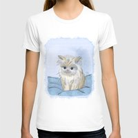 kitten T-shirts featuring Kitten by Michelle Behar