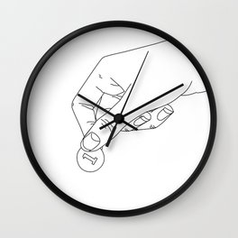 For a Change Wall Clock