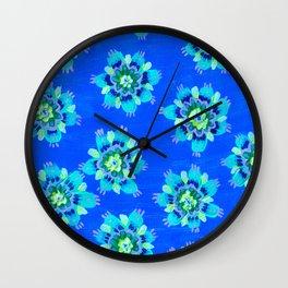 Kalispell Rose Wall Clock