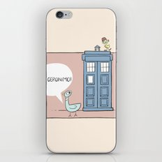 Don't Let the Pigeon Drive the Tardis iPhone & iPod Skin