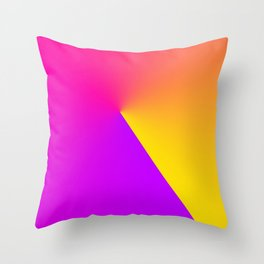 Abstract Summer Impression Throw Pillow