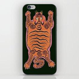 Wild Tiger Rug iPhone Skin