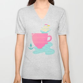 Cup of Sea Unisex V-Neck
