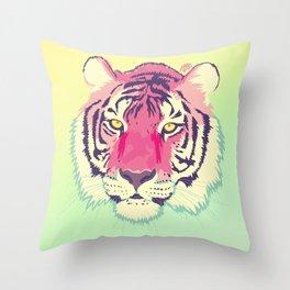 Electigre Throw Pillow