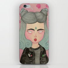 Ghouliette iPhone & iPod Skin