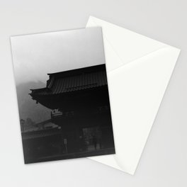 Nikko temple 001 Stationery Cards
