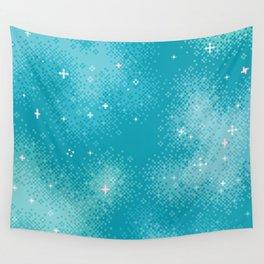 Winter Nebula Wall Tapestry