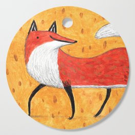 Sassy Little Fox Cutting Board