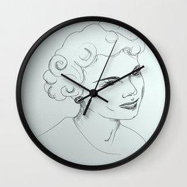 Sally-May Wall Clock