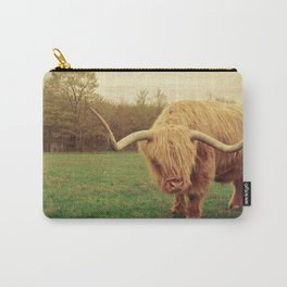 Scottish Highland Steer - regular version Carry-All Pouch