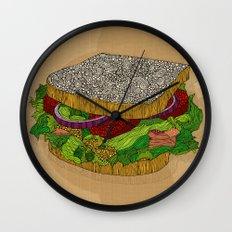 Sanduchito Wall Clock