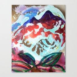 For purple mountain majesties Canvas Print