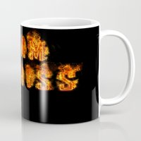 katniss Mugs featuring Team Katniss by pirateprincess